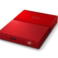 Si necesitas un disco duro para llevar junto al portátil, hoy en Amazon, el WD My Passport de 3 TB en rojo, está rebajado a 94,49 euros