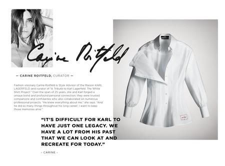 Siete Artistas Reinventaran La Iconica Y Elegante Camisa Blanca En Honor A Karl Lagerfeld 04