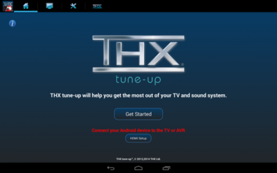 THX tune-up Promo, calibra y ajusta tu TV y sistema de sonido desde Android