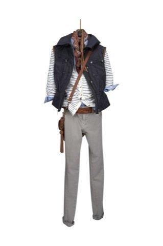 Lookbook Massimo Dutti Otoño-Invierno 2010/2011, chalecos