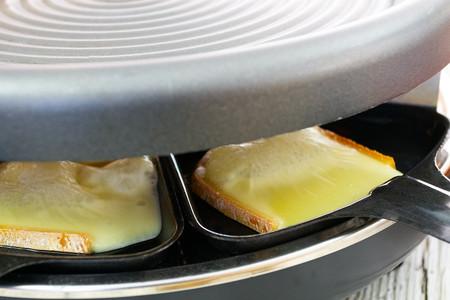 Raclette Fundiendo