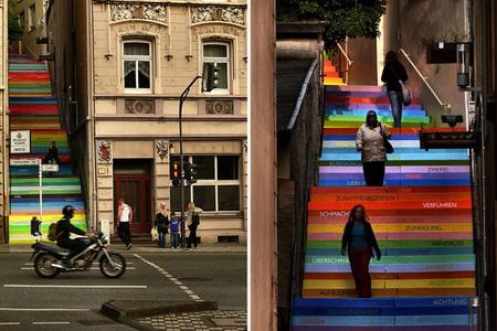 Escalera arcoíris 2