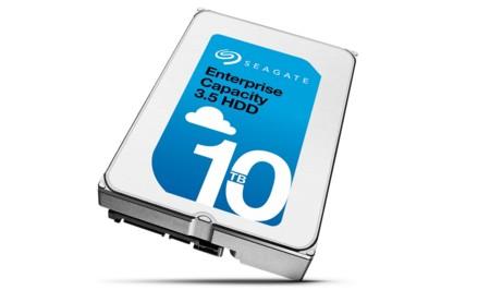Seagate iguala la apuesta de HGST con su primer disco duro de 10TB lleno de helio