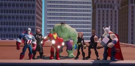 Así luce el universo de los vengadores en Disney Infinity: Marvel Super Heroes