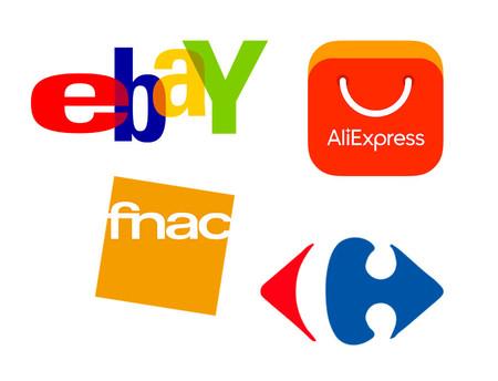 Ebay Aliexpress fnac carrefour