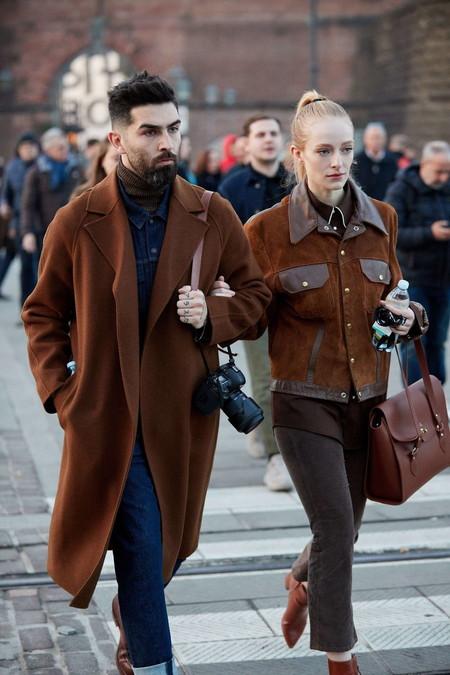 El Mejor Street Style De La Semana Tonos Marron Despedir El Invierno 02