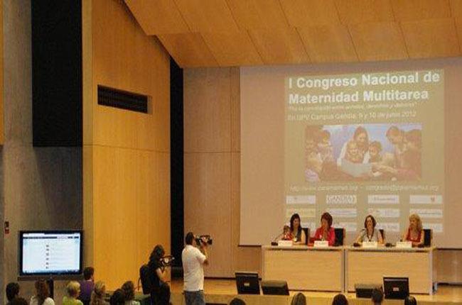 Presentacion del Primer Congreso de Maternidad
