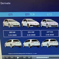 De 241 a 328 hp: se filtra la potencia de los próximos cinco Volkswagen Golf deportivos