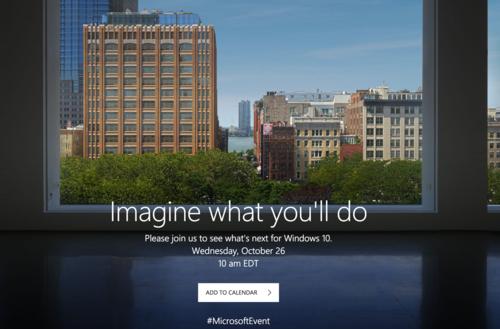 Ya tenemos confirmado el Evento de Microsoft para el 26 de octubre