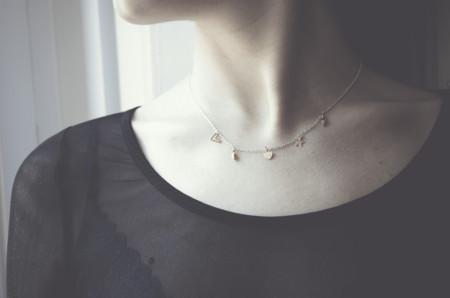 collar abalorios pena joyas