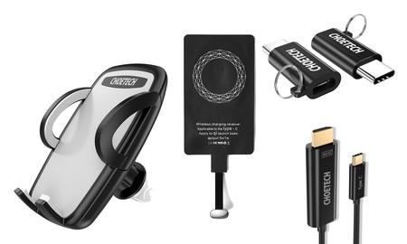 Cupones Choetech para Amazon: el más barato todavía en accesorios para el móvil y el portátil