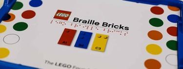 """Lego presenta """"ladrillos de Braille"""" para que los niños con discapacidad visual puedan aprender de forma divertida"""
