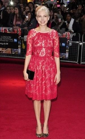 Los looks de Michelle Williams y Hilary Swank en el Festival de Cine de Londres 2010