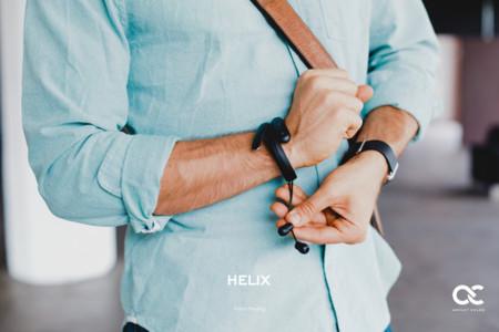 Helix: el wearable para llevar tus audífonos a cualquier lugar