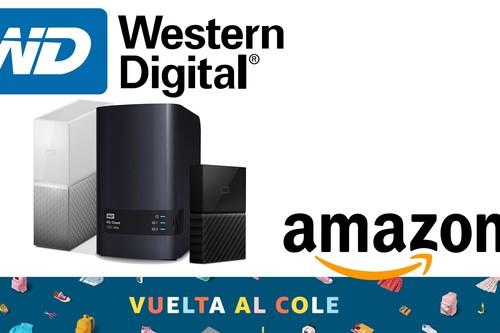 Vuelta al Cole 2019: las 8 mejores ofertas de discos duros externos y NAS Western Digital en Amazon