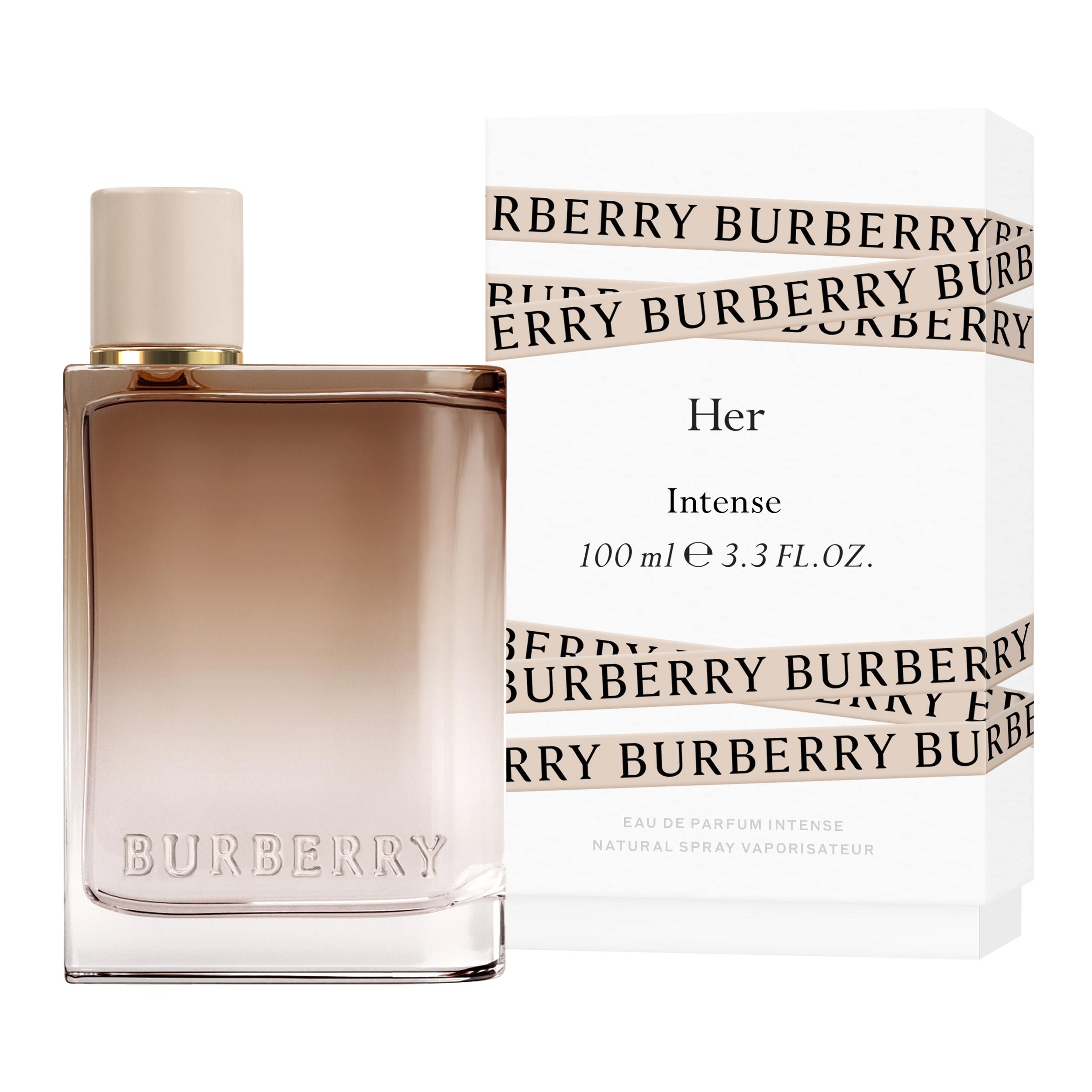 Eau de Parfum Her Intense en envase de 100 ml de Burberry.
