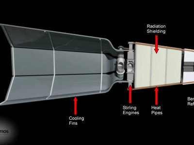 Kilopower: así es el reactor que nos llevará a Marte y abrirá la puerta a la exploración del espacio profundo