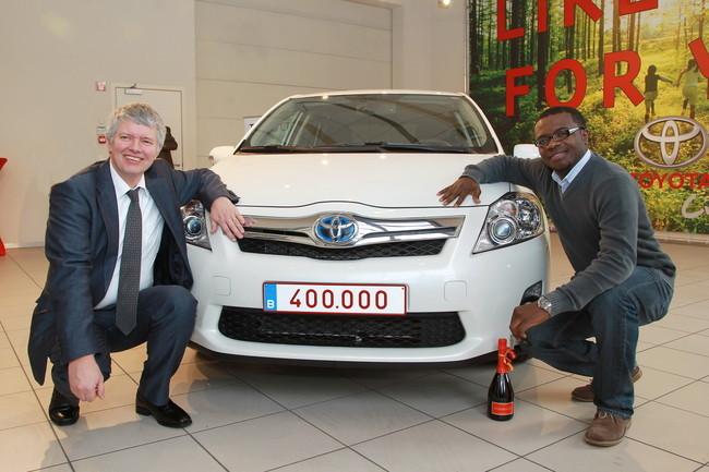 Toyota híbrido número 400.000 en Europa