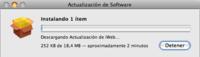 Actualizaciones de software: iWork '08 y Firmwares EFI para equipos Intel Core 2 Duo