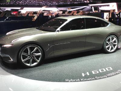 El Pininfarina H600 de 800 CV es tal y como debería ser una berlina híbrida de lujo