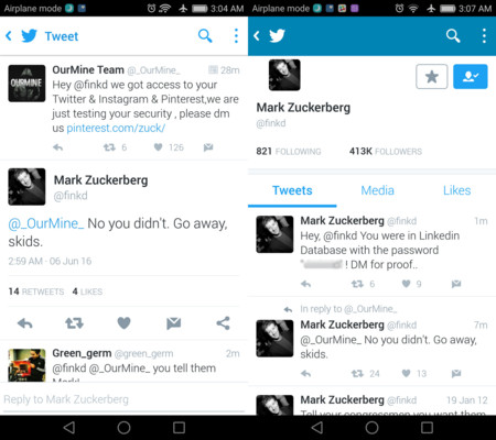 Mark Zuckerberg Twitter Hack