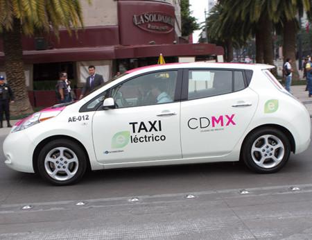 Taxis Electricos Hibridos Cdmx 2