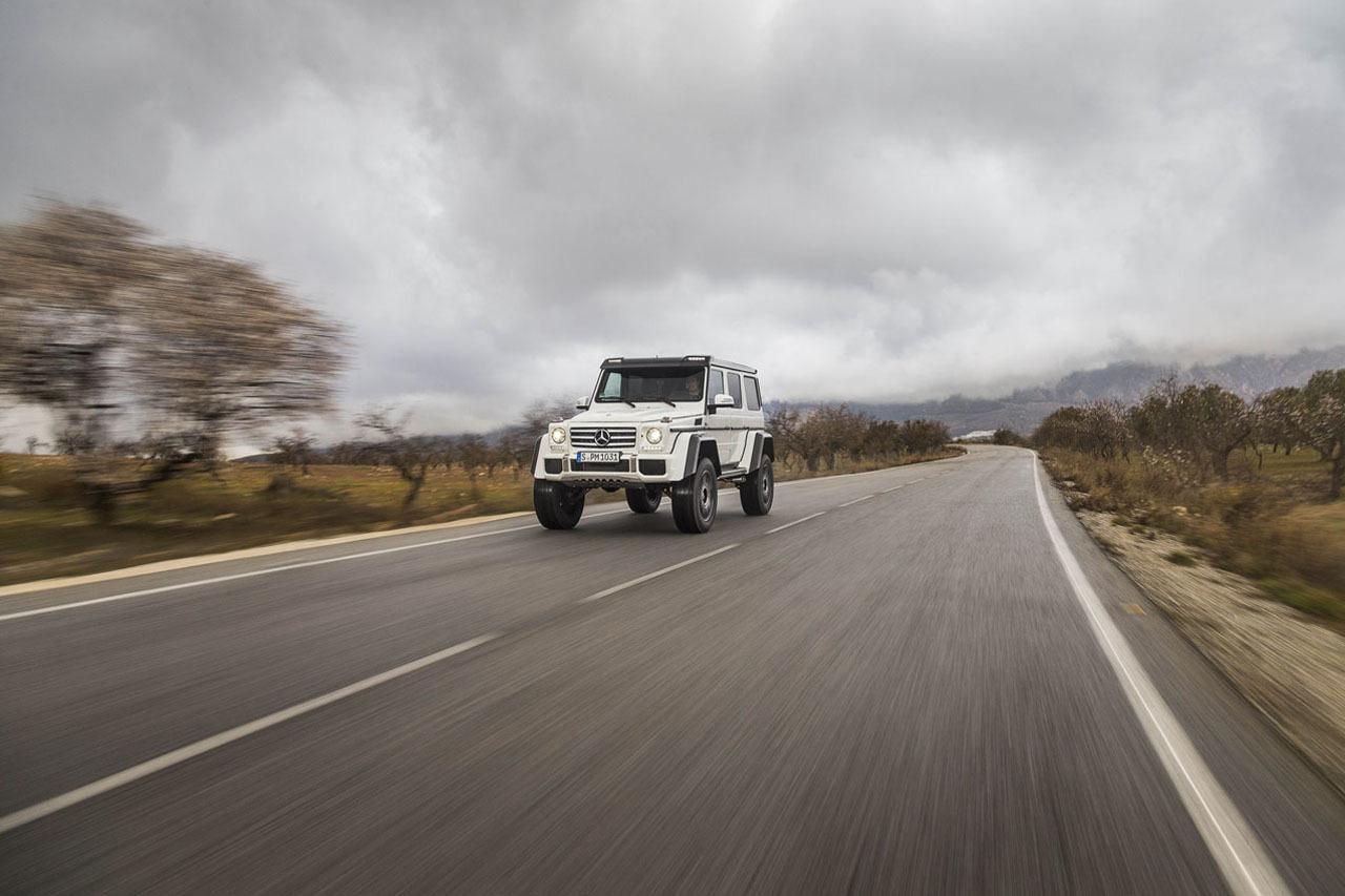 Foto de Mercedes-Benz G 500 4x4², toma de contacto (84/127)