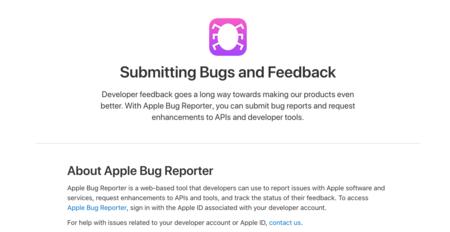 Apple eliminará los datos de los desarrolladores de los informes de errores próximamente