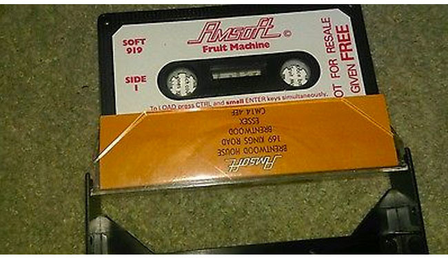 Fruit Machine para Amstrad