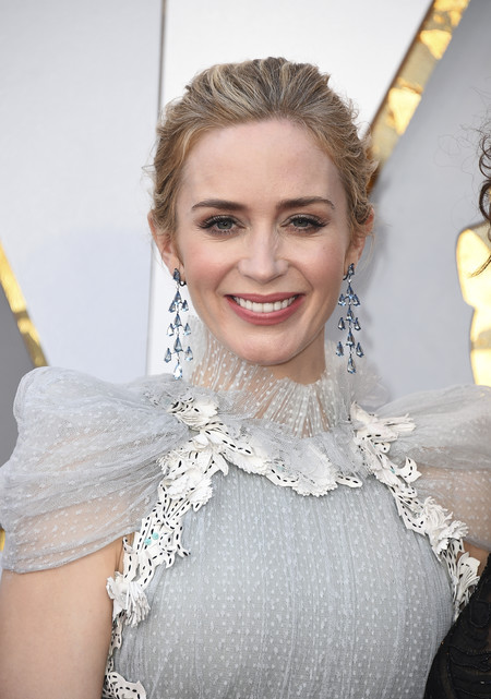 oscars 2018 beauty no makeup emily blunt