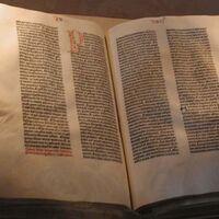 Todos los colores de la Biblia de Gutenberg