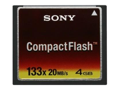 Tarjetas CompactFlash de Sony