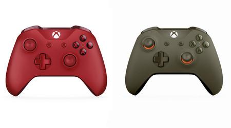 Si quieres tener una Xbox One S distinta puede que te interesen estos dos mandos que presenta Microsoft