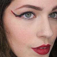 El eyeliner ensangrentado con el que nadie podrá mirarte a los ojos este Halloween