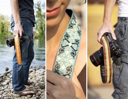 Correas de cámaras fotográficas de diseño