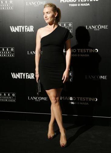 Kate Winstle en la Fiesta Vanity Fair y Mario Testino