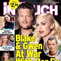 Blake y Gwen contra el ex de ella