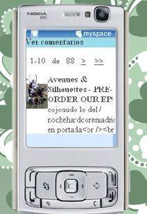 MySpace España en el móvil con Vodafone