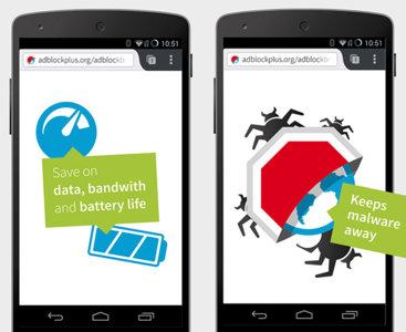 Adblock Browser vuelve a Google Play tras cinco meses de beta y muchos problemas