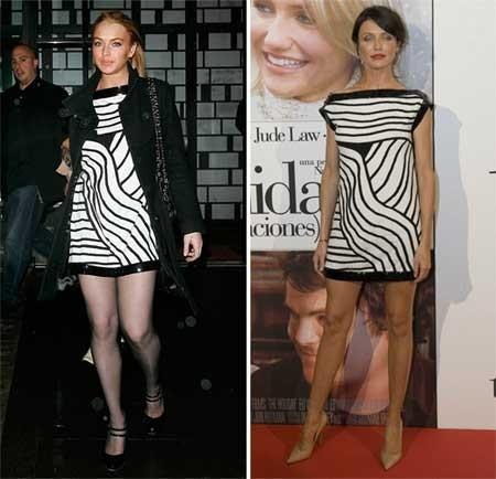 Minivestido de Chanel: ¿Cameron o Lindsay?
