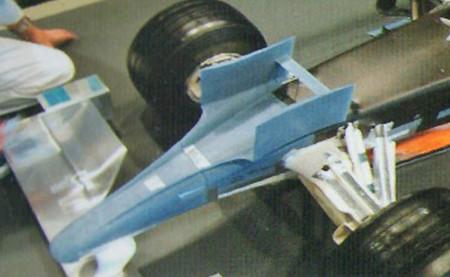 Honda RA109 Alerón sobre frontal