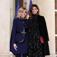 La Primera Dama de Argentina, Juliana Awada, es la protagonista en su encuentro con Brigitte Macron