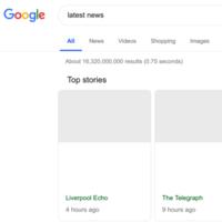 Así es como dice Google que se verá el buscador si finalmente se aprueba la reforma de la Ley de Copyright
