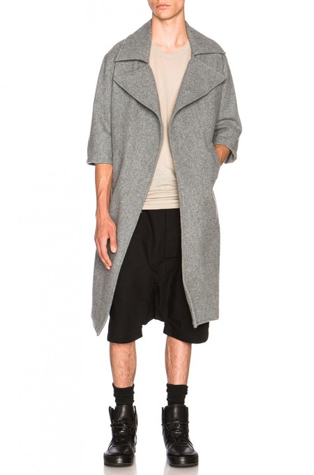 Fear Of God Car Coat Marble Grey 800x1209