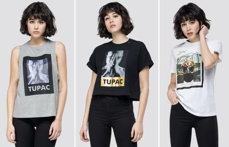 Tupac Camiseta Replay 03