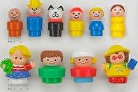 Riesgo de asfixia en muñecos Little People antiguos