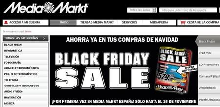 Media Markt también se apunta al Black Friday