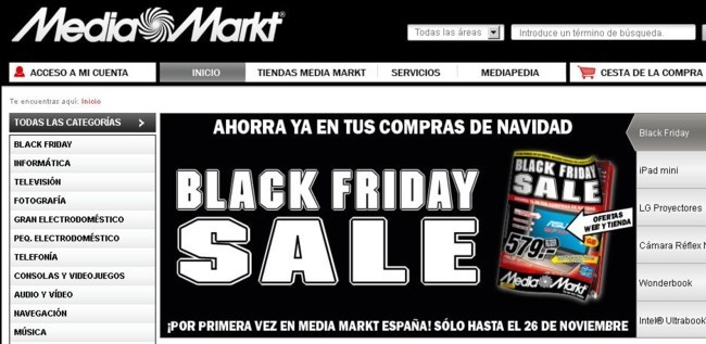 black friday en media markt