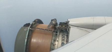 """""""El vuelo más terrorífico de mi vida"""": un avión pierde medio motor en pleno trayecto a Hawaii"""