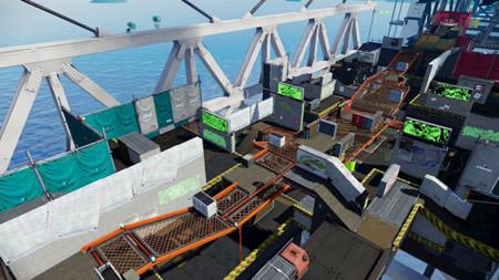 Hoy habrá un nuevo escenario en Splatoon llamado Hammerhead Bridge